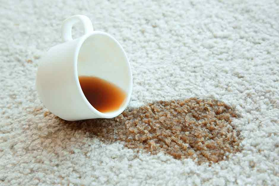 How to Remove Coffee Stains Without Damaging the Carpet